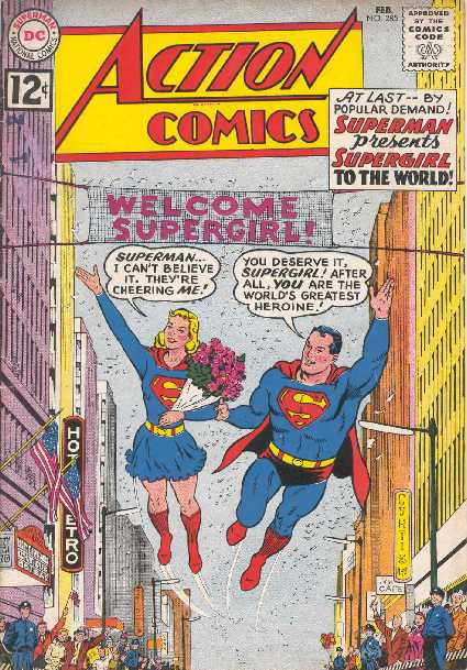 ACTION COMICS NO.285