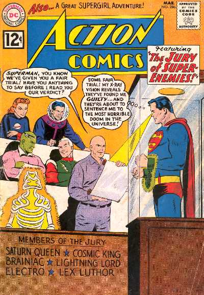 ACTION COMICS NO.286