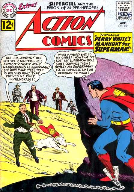 ACTION COMICS NO.287