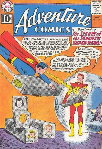 ADVENTURE COMICS NO.290