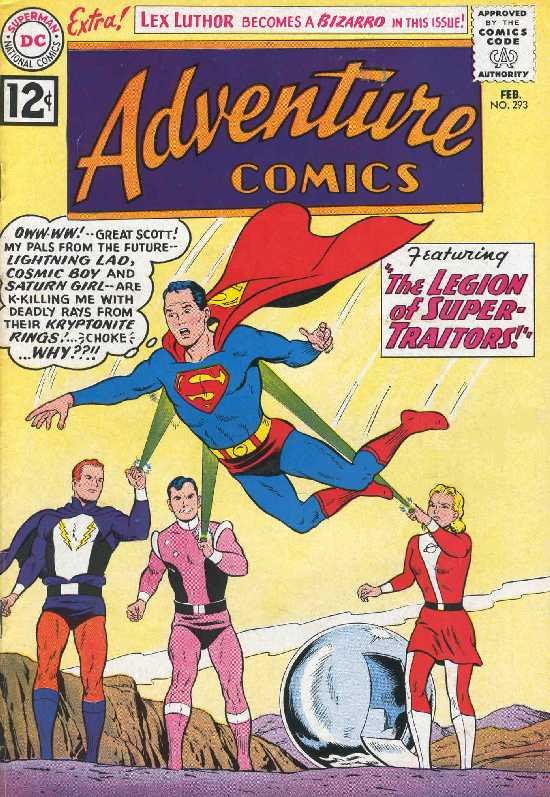 ADVENTURE COMICS NO.293