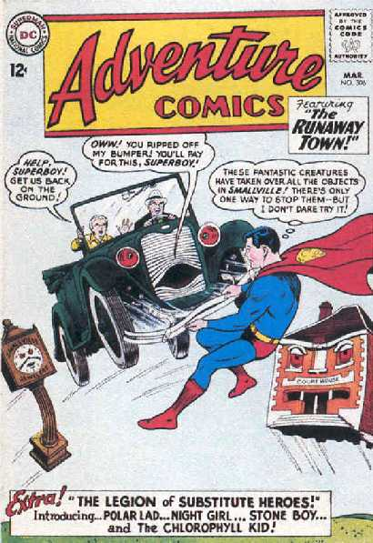 ADVENTURE COMICS NO.306