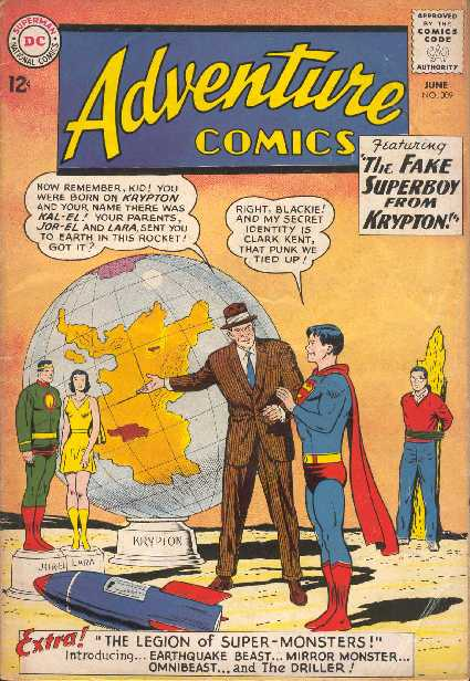 ADVENTURE COMICS NO.309