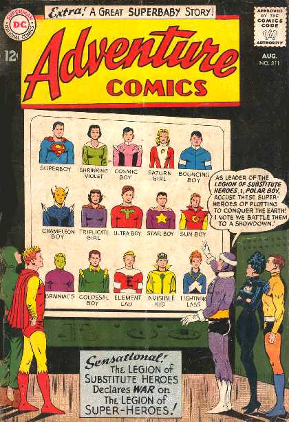 ADVENTURE COMICS NO.311