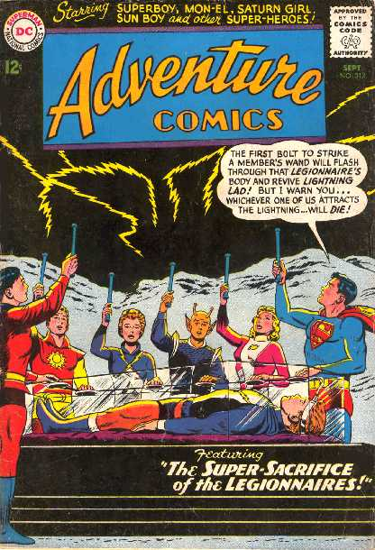 ADVENTURE COMICS NO.312