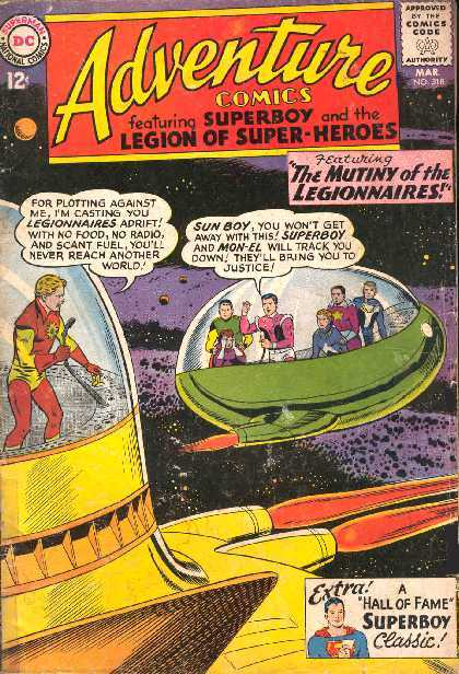 ADVENTURE COMICS NO.318