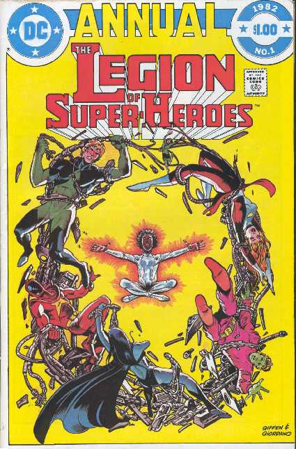 THE LEGION OF SUPER-HEROES ANNUAL NO.1