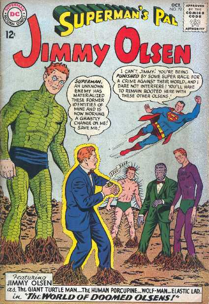 SUPERMAN'S PAL JIMMY OLSEN NO.72