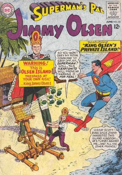 SUPERMAN'S PAL JIMMY OLSEN NO.85