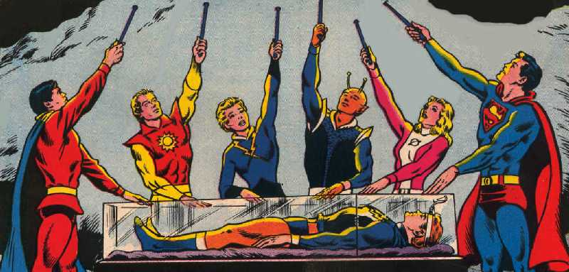 LEGION OF SUPER-HEROES BY CURT SWAN & MURPHY ANDERSON