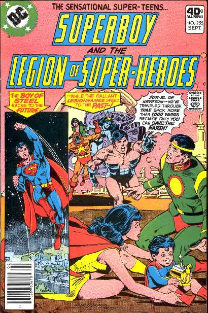 SUPERBOY AND THE LEGION OF SUPER-HEROES NO.255