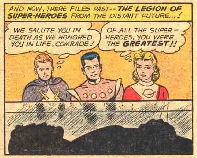 SUPERMAN NO.149 LEGION PICTURE